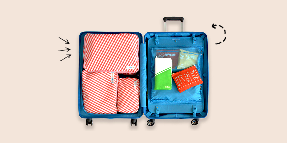 Let's pack organized with Flight 001